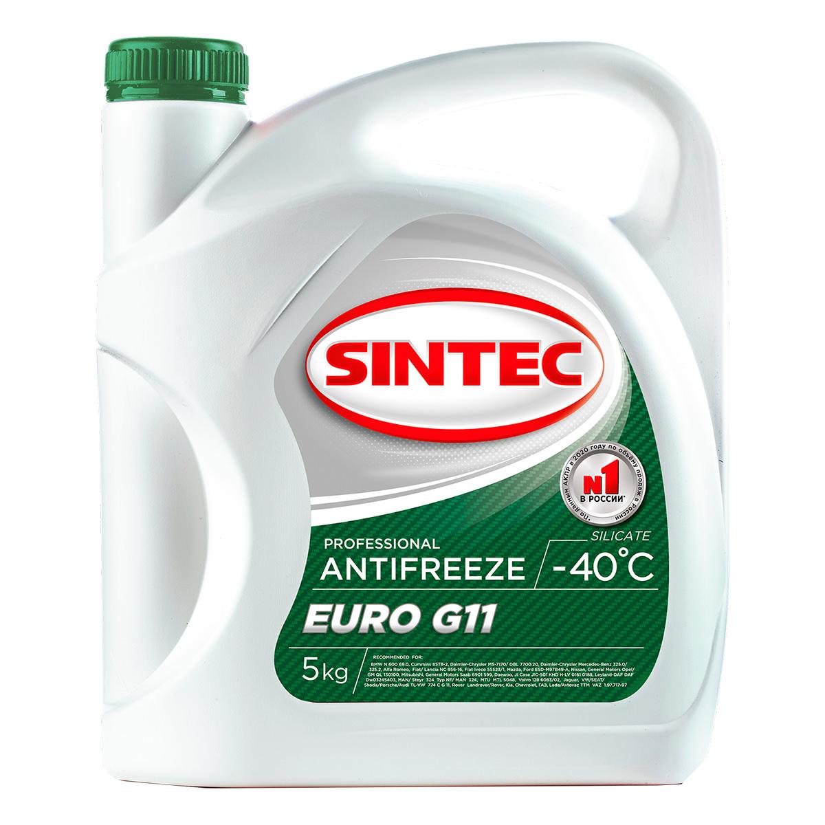 SINTEC ANTIFREEZE EURO G11 (-40)