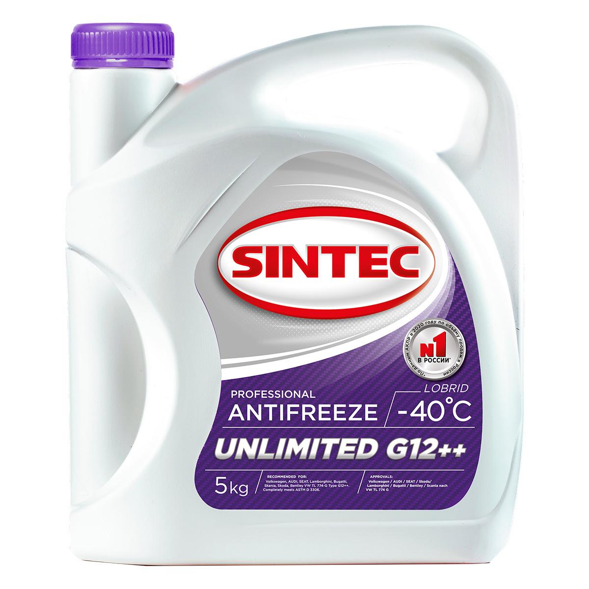 SINTEC ANTIFREEZE UNLIMITED G12++ (-40)