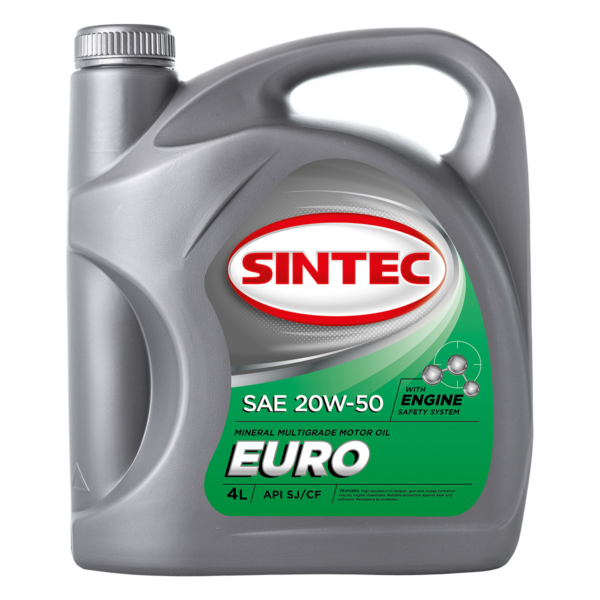SINTEC EURO SAE 20W-50 API SJ/CF