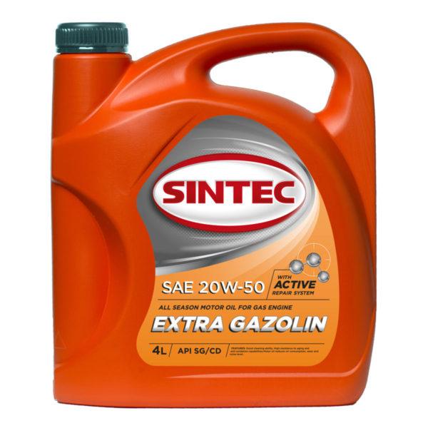 SINTEC EXTRA GAZOLIN SAE 20W-50 API SG/CD