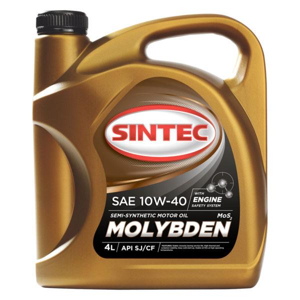 SINTEC MOLYBDEN SAE 10W-40 API SJ/CF
