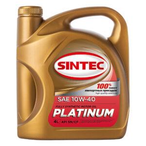 SINTEC PLATINUM SAE 10W-40 API SN/CF