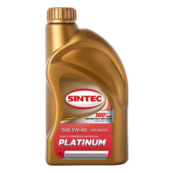 SINTEC PLATINUM SAE 5W-40 API SN/CF