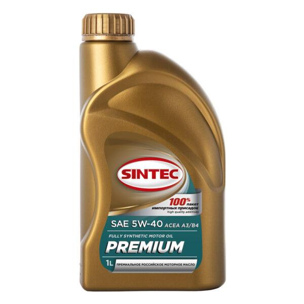 SINTEC PREMIUM SAE 5W-40 ACEA A3/B4