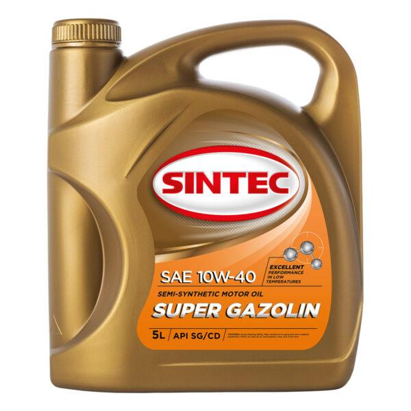 SINTEC SUPER GAZOLIN SAE 10W-40 API SG/CD