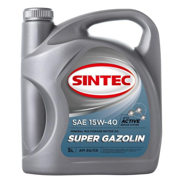 SINTEC SUPER GAZOLIN SAE 15W-40 API SG/CD